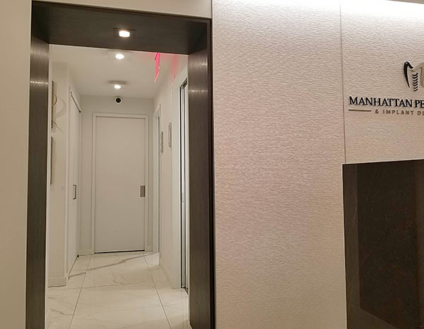 NYC Dental Implant Specialist | Manhattan Center for Dental Implants | Entrance Hall